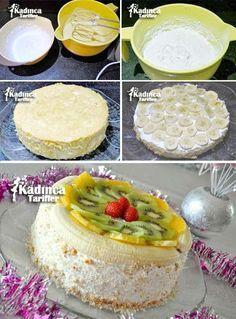 Fruit Wet Pie Recipe, How To? Delicious Cake Recipes, Pie Recipes, Yummy Cakes, Pasta Recipes, Creamy Pasta Bake, Dark Fruit Cake Recipe, Cocktail Cake, Avocado Salad Recipes, Avocado Dessert