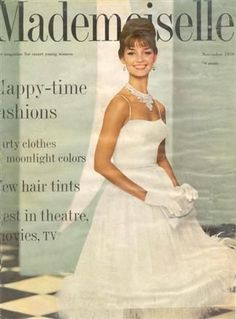 Dolores Hawkins - Mademoiselle Magazine [United States] (November 1959)
