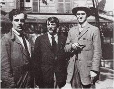 Amedeo Modigliani, Pablo Picasso, Andre Salmon