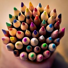 I always want to press my hand down on a bunch of sharpened pencils.  Anyone else?