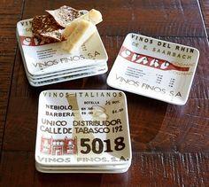 Wine Appetizer Plate, Set of 4 | Pottery Barn