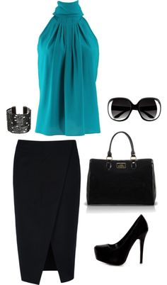 """Office outfit..."" by natgonzalezc on Polyvore"