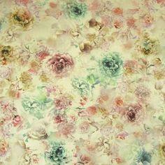 Multi Colour Watercolour Floral
