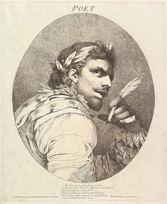 John Hamilton Mortimer, Poet (from Twelve Characters from Shakespeare)