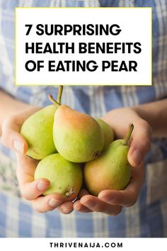 Fiber rich foods like pear are good for you as well. Discover pear nutrition facts and health benefits of Pear. Benefits Of Pears, Fruit Benefits, Health Benefits, Health Tips, Fiber Rich Foods, High Fiber Foods, Pear Nutrition, Fruit Facts, Health Images