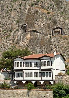 a photo from Amasya, Central Anatolia// Amasya, Turkey Some Beautiful Pictures, Beautiful Places, Republic Of Turkey, Visit Turkey, Asia, Famous Places, Black Sea, Ottoman Empire, Istanbul Turkey