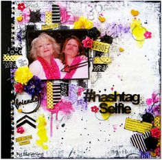 June Inspiration By Di GarlingThree Layouts to Share