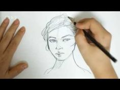 YouTube How To Draw Hair, Diy And Crafts, Watercolor, Drawings, Face, Youtube, Painting, Beautiful, Watercolor Painting