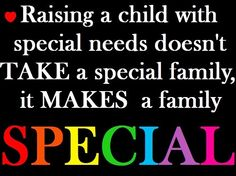 Autism ... makes a family special