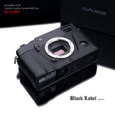 GARIZ Black Label Half-Case for Fuji X-Pro1