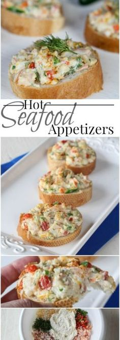 Hot Seafood Appetizers (VIDEO)