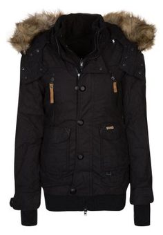 khujo MARGRET - Winter jacket - black for £145.00 (02/10/14) with free delivery at Zalando