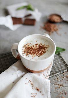 Chocolate Mint Steamer