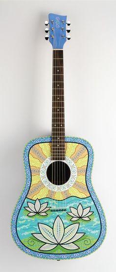 lotus guitar | Stacey Creek