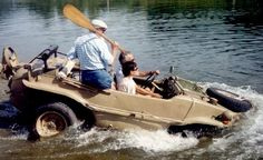 The Schwimmwagen, truly an amazing vehicule
