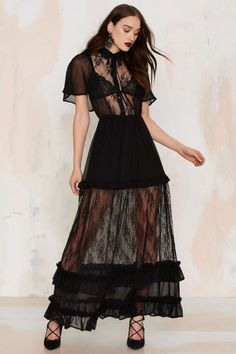 Luella Lace Maxi Dress | Shop Clothes at Nasty Gal!