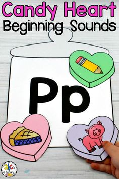 This Candy Heart Beginning Sound Sort activity is an engaging, hands-on way to practice identifying beginning sounds. Your students will have fun sorting and matching the initial sounds to the letter and filling the candy jar with candy hearts. This Valentine's Day beginning sounds sorting is perfect for your February literacy centers, morning tubs, or as an enrichment activity for early finishers. Click on the picture to learn more! #heartbeginningsoundsort #valentinesdaybeginningsoundsort