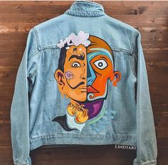 Que fodaa Jaqueta jeans Salvador Dali e a arte surrealista 2019 Que fodaa Jaqueta jeans Salvador Dali e a arte surrealista The post Que fodaa Jaqueta jeans Salvador Dali e a arte surrealista 2019 appeared first on Denim Diy.