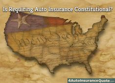 Why is Car Insurance Mandatory? Is This Unconstitutional?