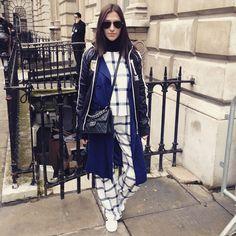 Street style at London Fashion Week AW15. See more http://seen.co/event/2015-london-fashion-week---day-4-london-u.k.-2015-8138/highlight/182724