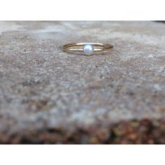 Mini Pearl Ring 9ct