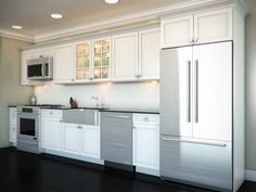 One Wall Kitchen  Garageapartment Plan  Pinterest  Kitchens Alluring One Wall Kitchen Designs Photos Inspiration