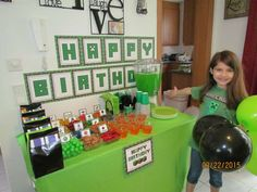Minecraft Birthday Party Ideas | Photo 11 of 11