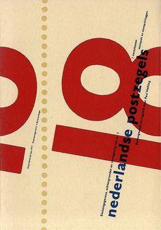 Typografie; Karel Martens, Anthon Beeke - Nederlandse Postzegels - 1984/1986