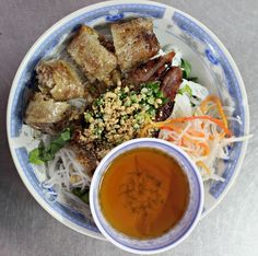 Bun Thit Nuong Cha Gio  The Big Trip- Month Seven and Eight Round Up via The World on my Necklace