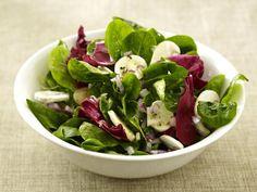 blattsalat-champignon  Rezept