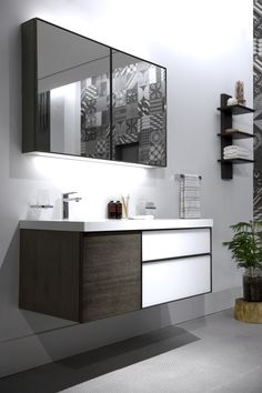 Bathroom Vanity Vendors prevent spreading the common cold or flu | contemporary bathrooms