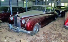 Rolls Royce...North Carolina barn find