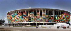 Les stades de la Coupe du Monde de football au Brésil vont être réaménagés pour accueillir des SDF