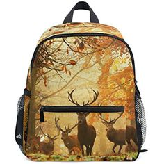 Unisex PU Leather Backpack Christmas Reindeers and Fir Print Womens Casual Daypack Mens Travel Sports Bag Boys College Bookbag
