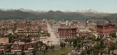 Vintage Denver - wish it were like this still!