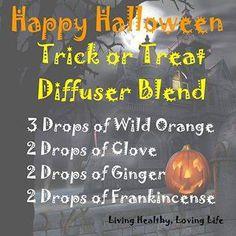 Halloween Diffuser Blend