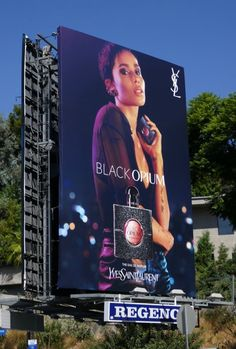 Fab fall fashion, beauty and fragrance billboards styling L.'s September 2018 skyline. Zoey Kravitz, Ysl Black Opium, Photoshoot Concept, Billboard Design, Mode Hijab, Fashion Seasons, Spring Looks, Fashion Story, Fashion Labels