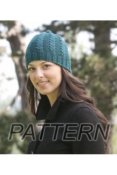What a fun hat!  Knit one up in Cascade Pacific from www.AlpacaDirect.com!