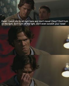 #spn funny moments