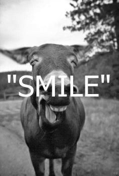 Just smile :)