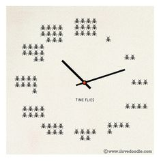Funny Pictures About Time Literally Flies Oh And Cool Pics Also Just For Clocks