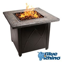 PROPANE-Gas-Fire-Pit-Outdoor-Table-by-Blue-Rhino