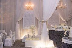 custom chairs wedding - niagara wedding decor