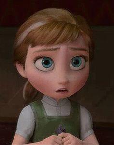 frozen sad anna gif Imgur Tumblr giphy