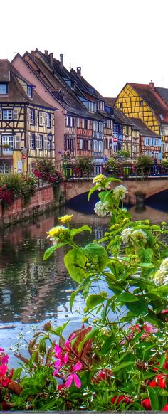 Travel Inspiration for France - Colmar, Alsace, France Places Around The World, Oh The Places You'll Go, Travel Around The World, Places To Travel, Around The Worlds, Wonderful Places, Beautiful Places, Belle France, Beaux Villages