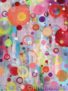 Abstract Paintings and Drawings: A Visual Feast of Colorful Abstract Art
