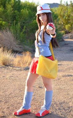 """""""Your very own pokemon legend is about to unfold! A world of dreams and adventures with pokemon awaits! Easy Cosplay, Video Game Cosplay, Cute Cosplay, Cosplay Outfits, Cosplay Girls, Cosplay Costumes, Anime Cosplay, Awesome Cosplay, Cosplay Ideas"""