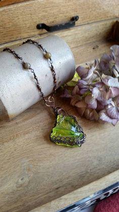 Stunning Radium Green Angel Aura Monatomic Andara crystal