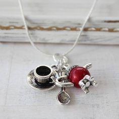 Posh Tea Lovers Necklace