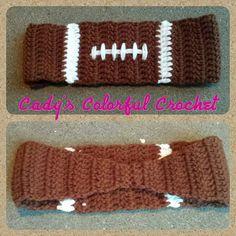 Ravelry: Football Earwarmer pattern by Cady Sides